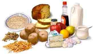 Carb rich foods