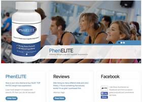 Phenelite website