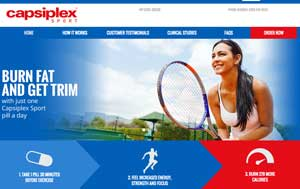Capsiplex Sport Website