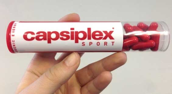 Capsiplex Sport packet new