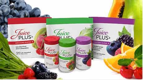 Juice Plus range