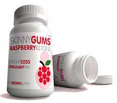 Raspberry Ketone Skinny Gums