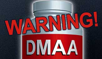 DMAA warnings