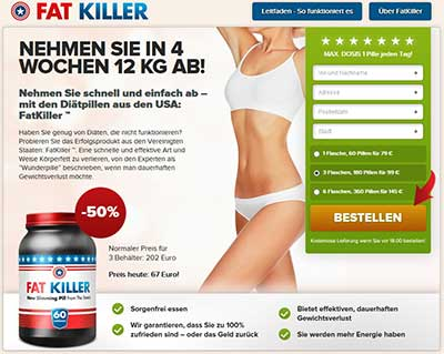 Fat Killer website