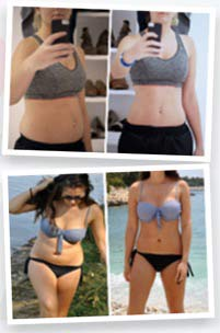 15 Day Diet Plan before and after